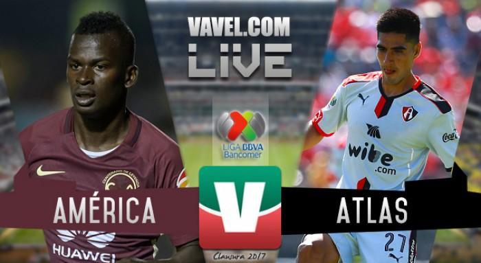 Resultado y goles del América 0-1 Atlas en Copa MX 2017