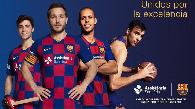 Asistencia Sanitaria da un paso más en el patrocinio del FC Barcelona