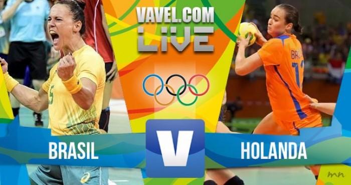 Brasil perde para a Holanda no handebol feminino dos Jogos Olímpicos (23-32)