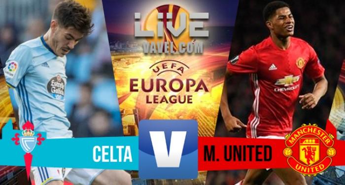Celta Vigo - Manchester United in Europa League 2016/2017 (0-1) Vince di misura lo United!