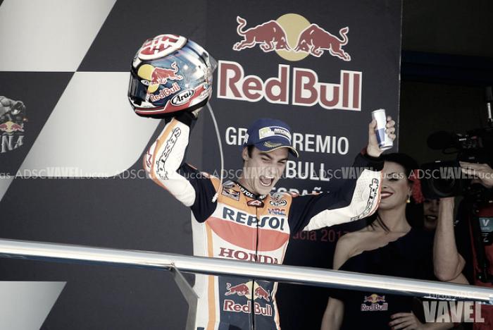 Dani Pedrosa en el GP de Valencia: coronado en Cheste