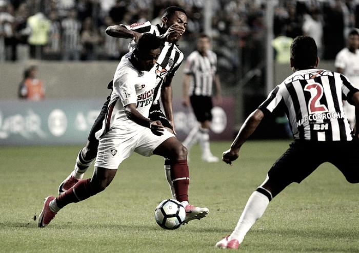 Fluminense e Atlético-MG se enfrentam em busca de aproximação do G-6