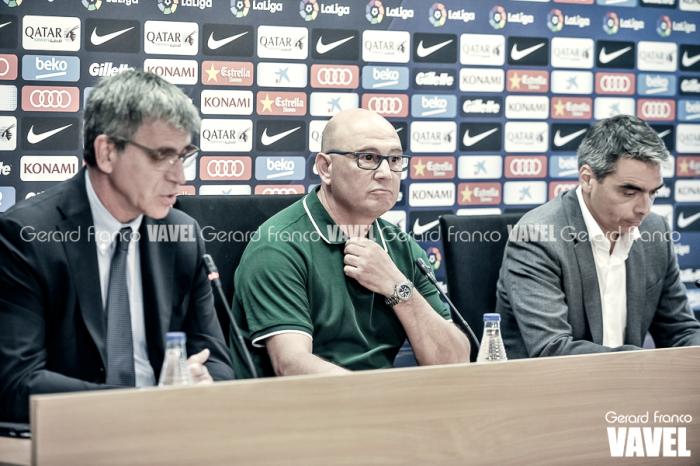 Xavi Llorens deja el banquillo del Barça