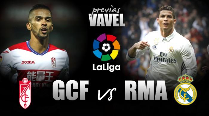 Embalado e visando retomar liderança, Real Madrid visita já rebaixado Granada