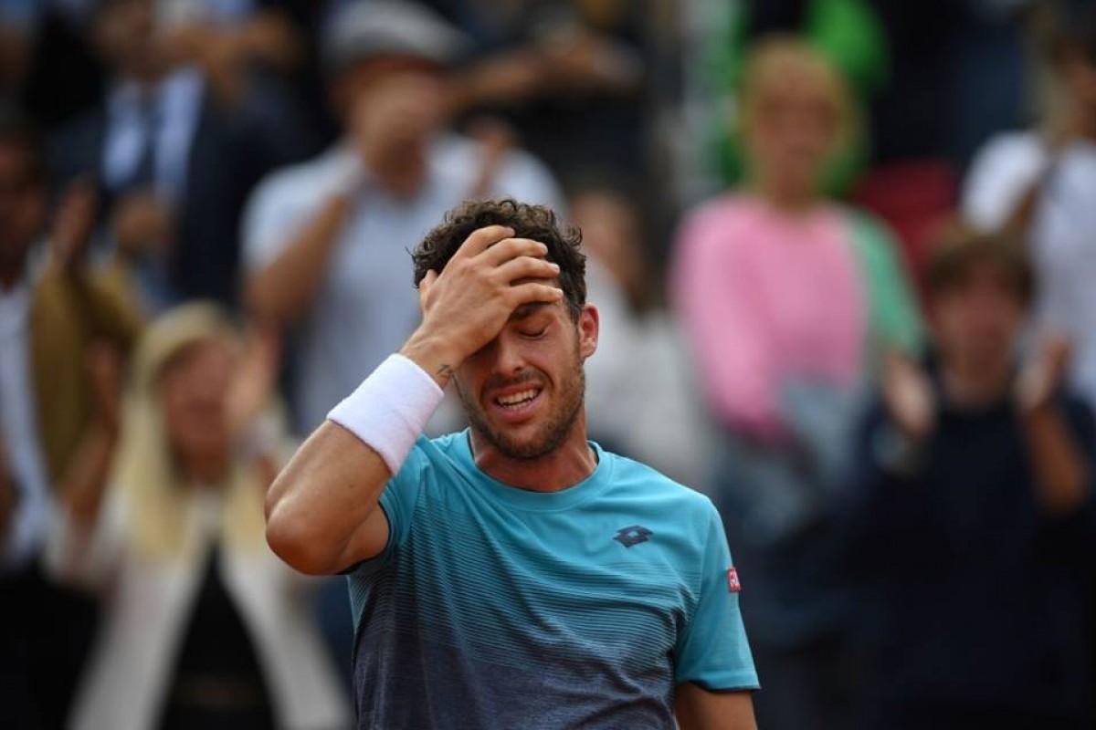 Roland Garros 2018 - Cecchinato: è semifinale, è storia, piegato anche Djokovic