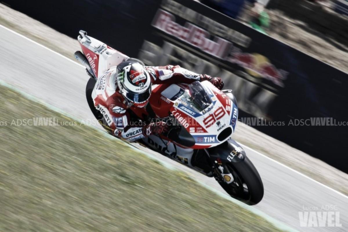 MotoGP - Gran Premio di Germania: Lorenzo in testa nelle Libere 2