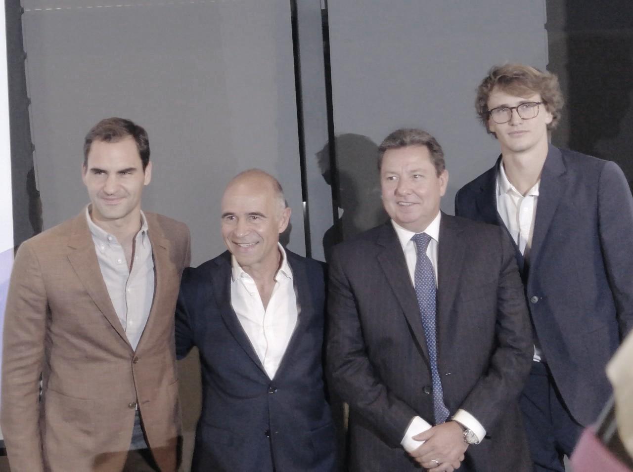 Roger Federer y Alexander Zverev listos para su duelo en tierra de campeones