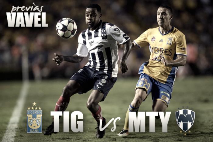 Previa Tigres - Monterrey: por la supremacía regia
