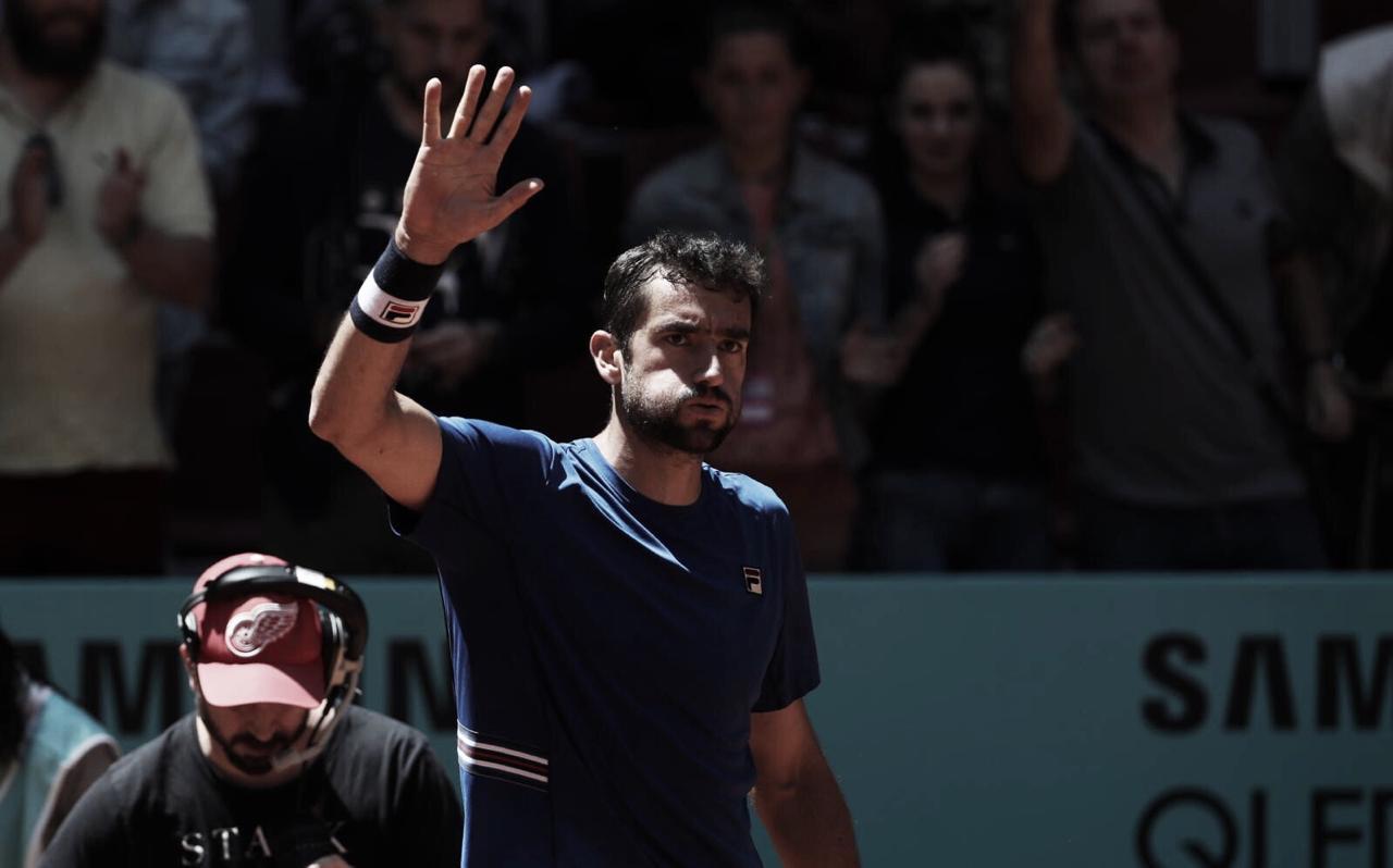 Cilic desiste por intoxicação alimentar e Djokovic vai à semifinal em Madrid