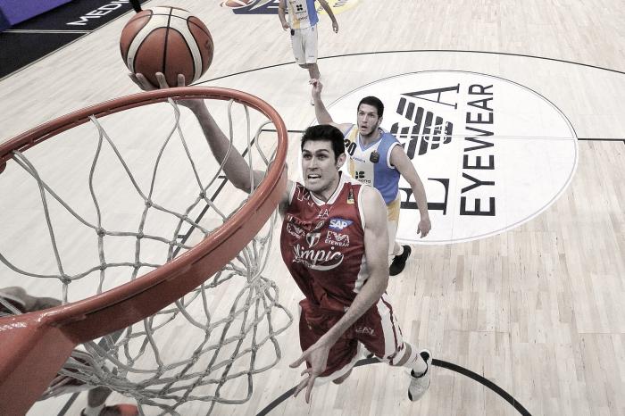 Risultato finale Capo d'Orlando - EA7 Milano in gara-3 Playoffs Legabasket LIVE 80-94