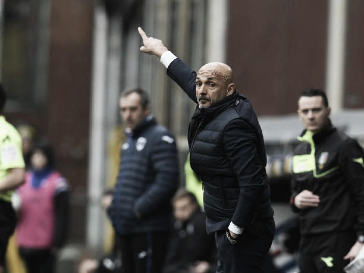 Spalletti aprova atuação da Inter contra Sampdoria e relembra 'psicologia reversa'