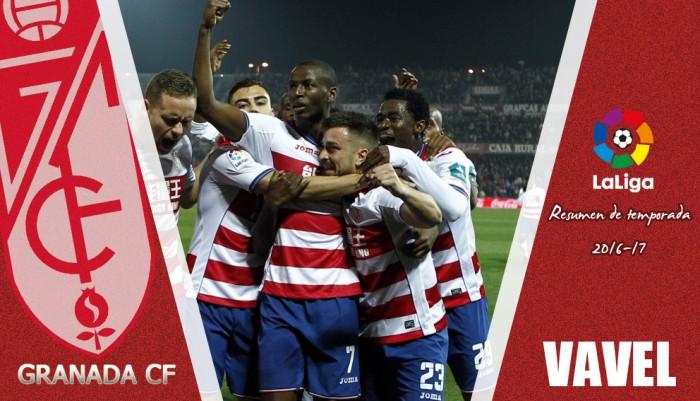 Resumen temporada 2016/17: Granada CF, un nuevo proyecto que cae a Segunda