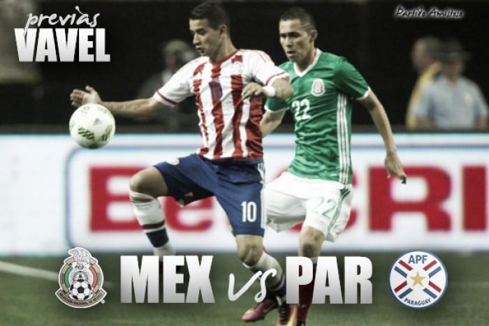 México vs Paraguay: la previa, horario y alineaciones