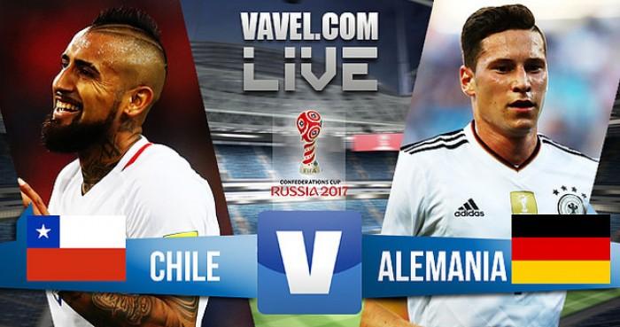 Resultado Chile x Alemanha na final da Copa das Confederações 2017 (0-1)
