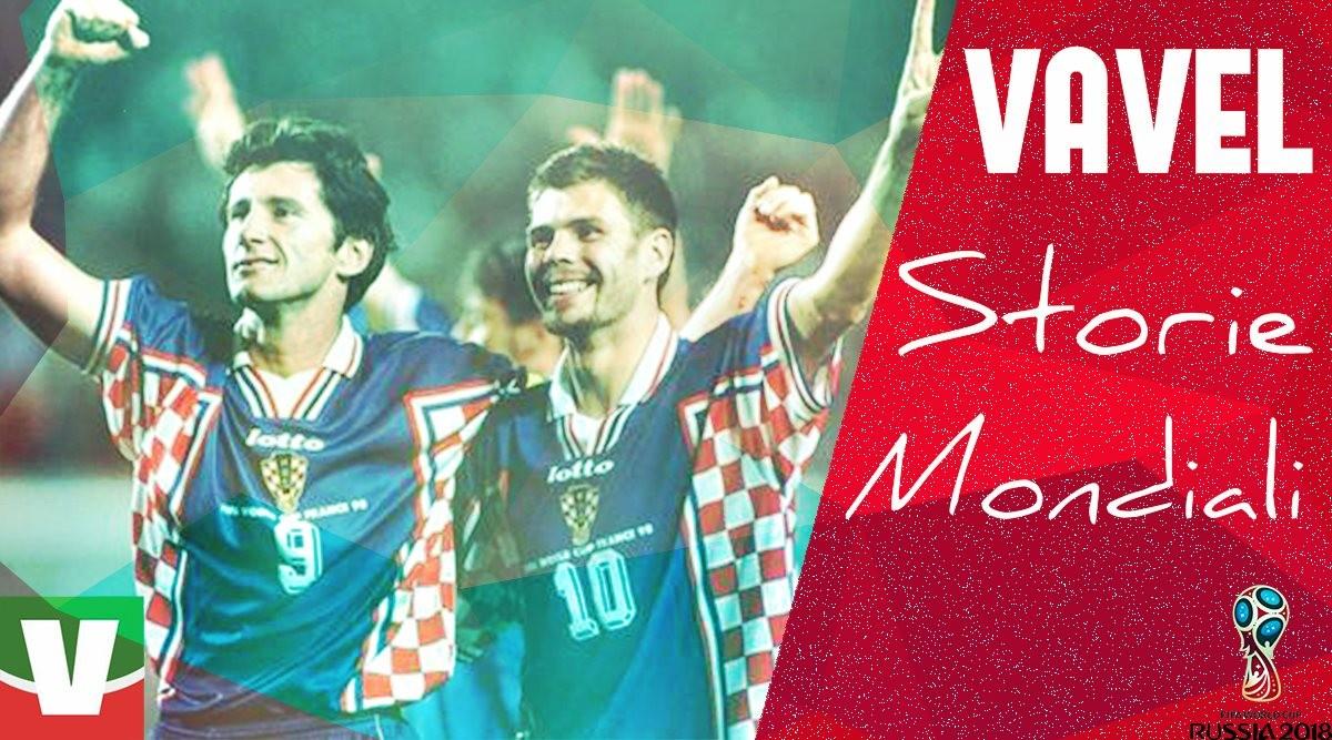 Storie mondiali: la Croazia del '98, ad un passo dal cielo