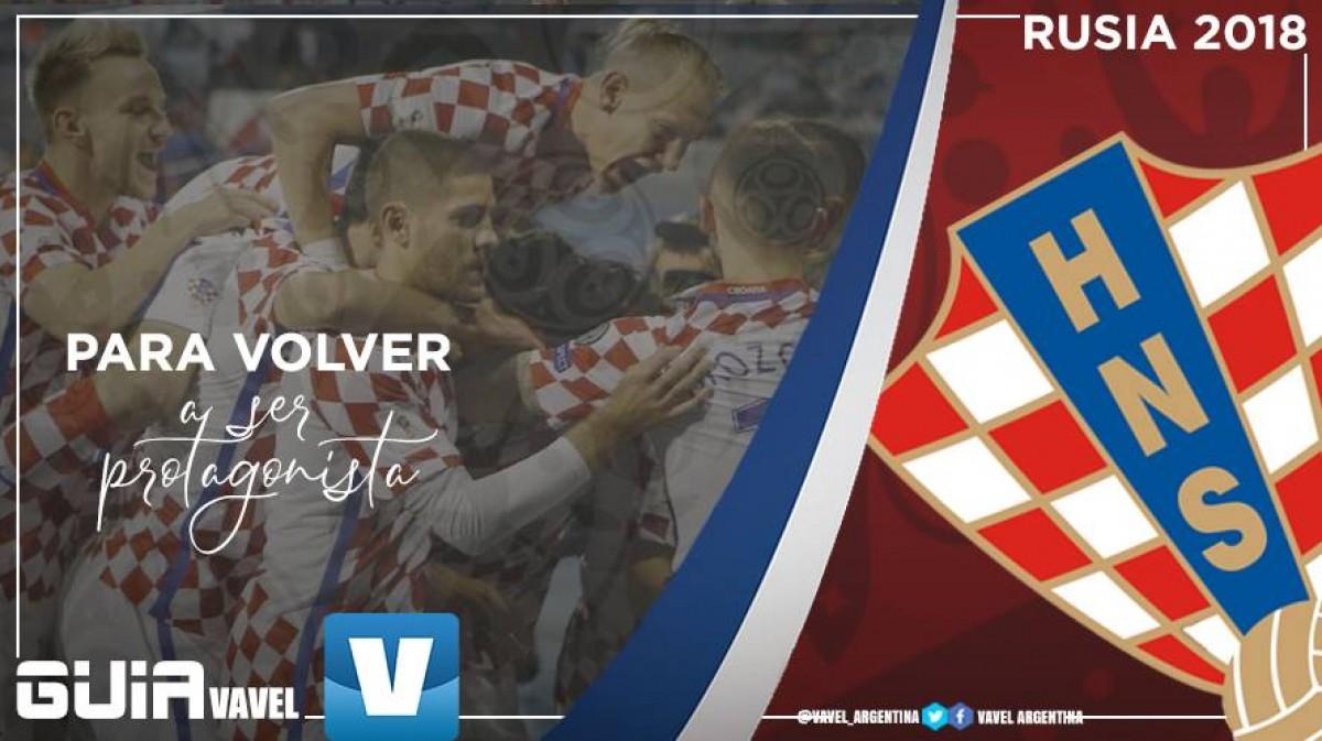 Guía selección croata 2018: para volver a ser protagonista