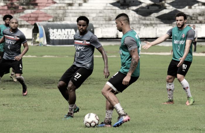 Gripado, Bruno Paulo não viaja com o Santa Cruz para Curitiba