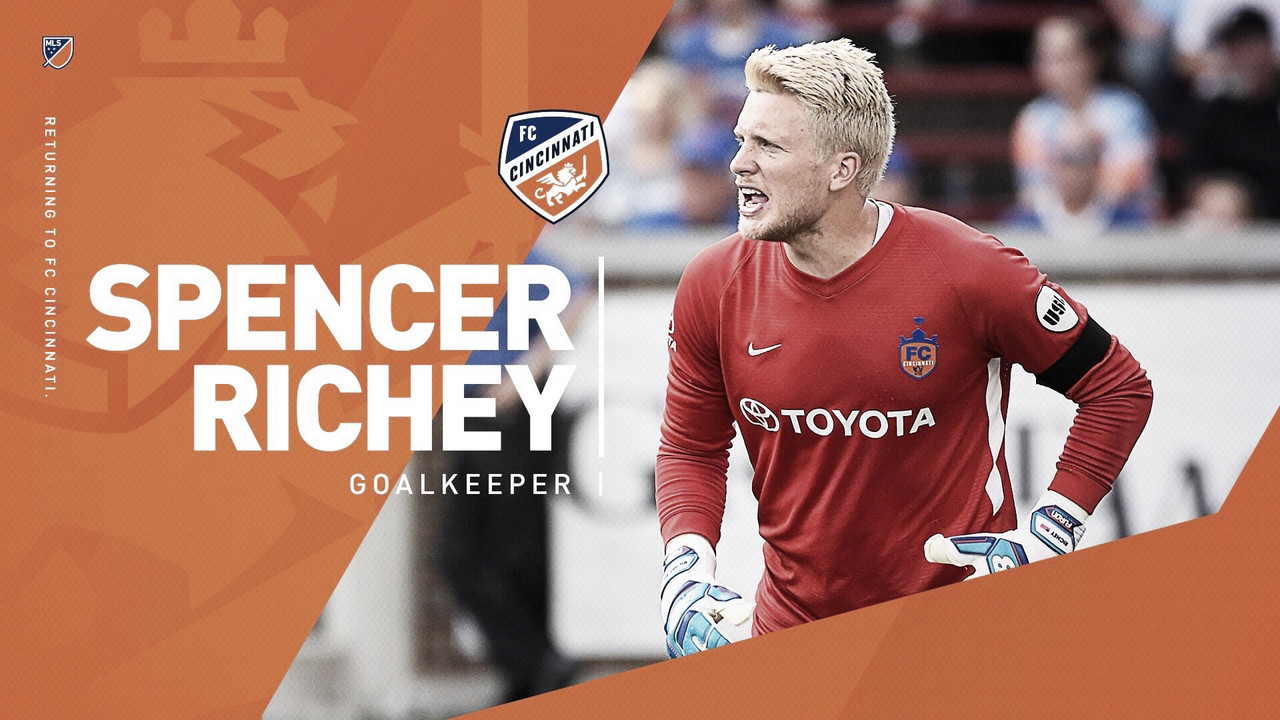 Spencer Richey vuelve a FC Cincinnati