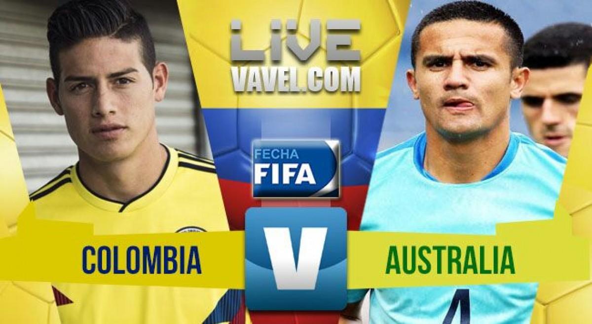 Resumen Colombia vs Australia