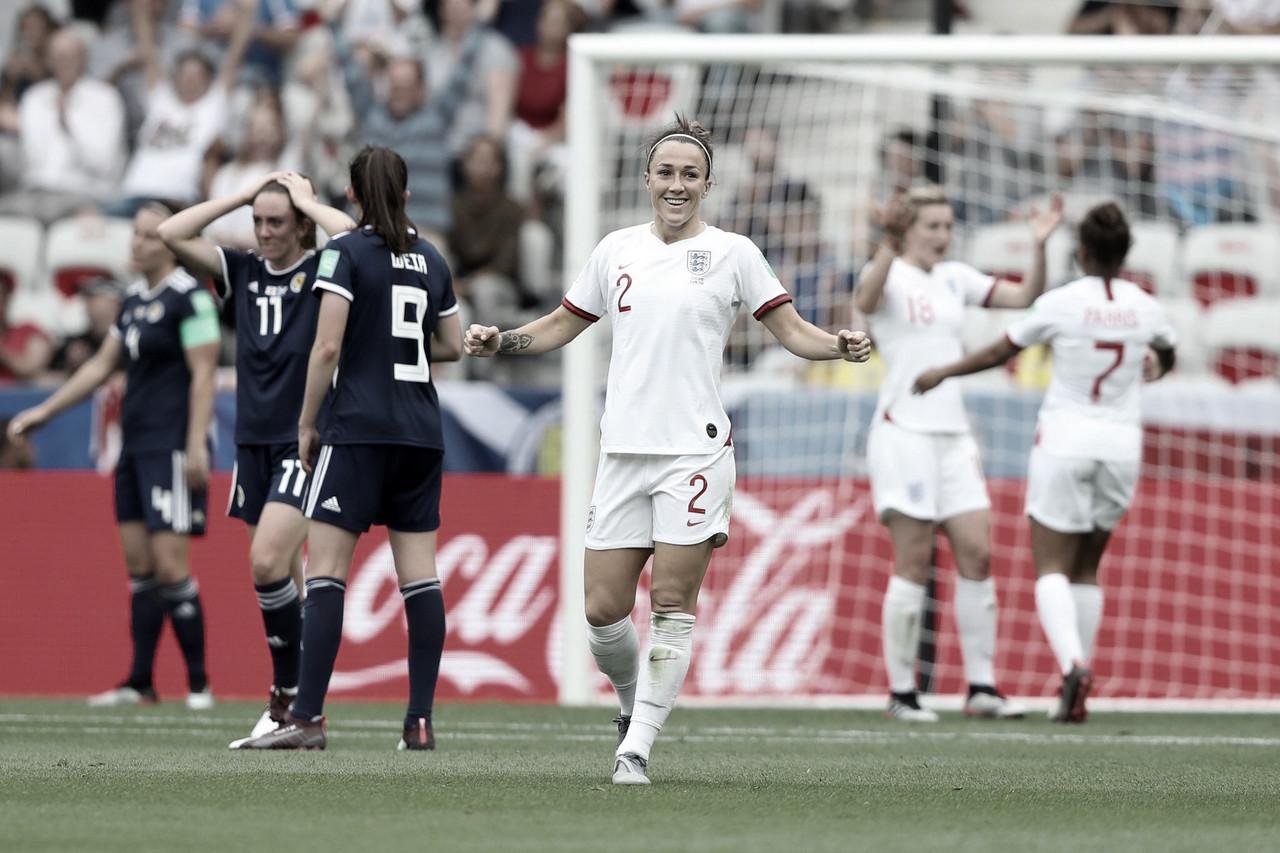 Inglaterra bate Escócia na estreia do Grupo D da Copa do Mundo