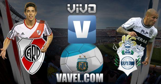 Resultado River Plate - Gimnasia y Esgrima (1-0)