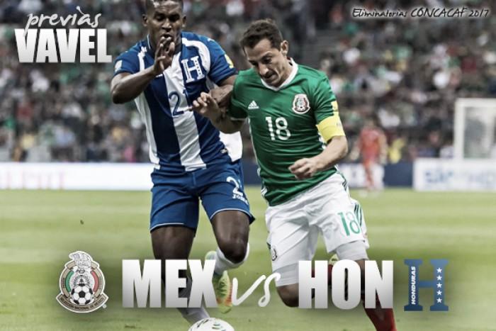 México vence 3-0 a Honduras y lidera el hexagonal