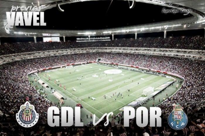Chivas con un paso débil empata con el Porto en partido amistoso