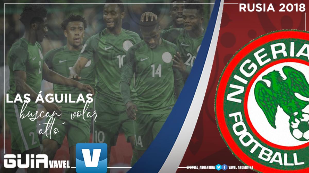 Guía selección nigeriana 2018: las Águilas buscan volar alto