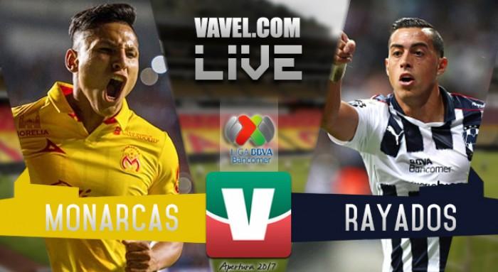 Resultado y goles del Morelia 0-0 Monterrey de la Liga MX 2017