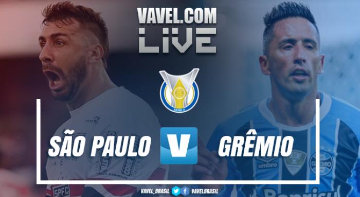 Resultado São Paulo e Grêmio empatam no Campeonato Brasileiro (1-1)