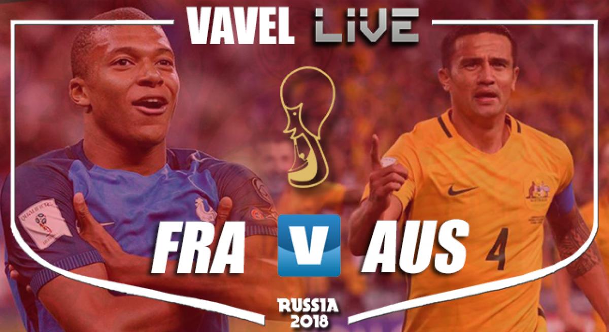 Coupe du Monde: France 2-1 Australie
