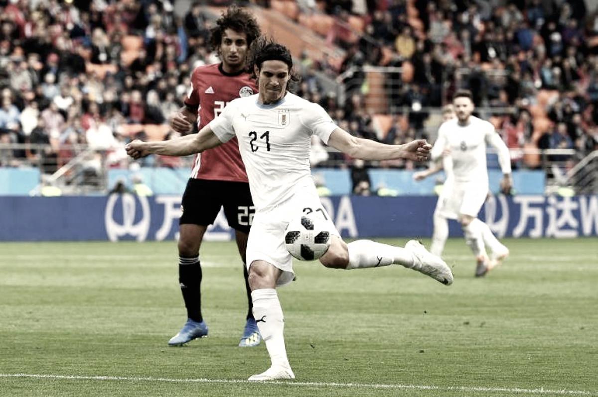 En el desayuno futbolero, Uruguay derrotó por la mínima a Egipto