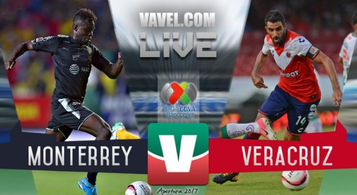 Resultado y gol del Monterrey 1-0 Veracruz de la Liga MX 2017