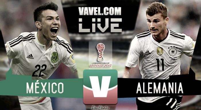 Resultado y goles del México 1- 4 Alemania en Copa Confederaciones 2017