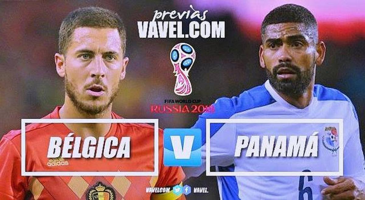 Previa Bélgica - Panamá: los favoritos no quieren más sorpresas