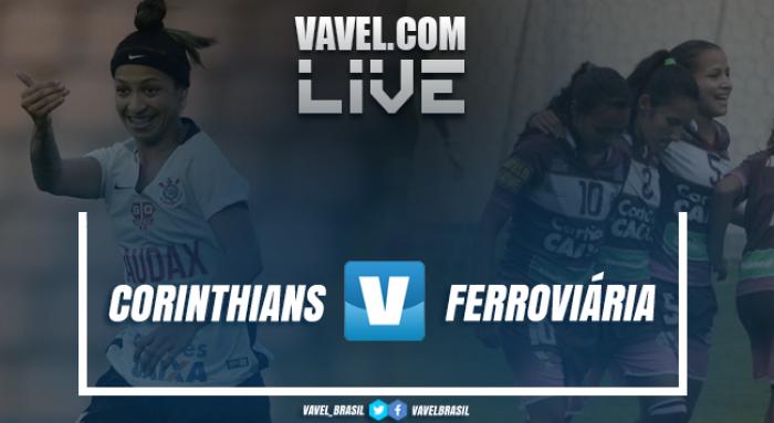 Resultado Corinthians x Ferroviária no Brasileirão Feminino (4-0)