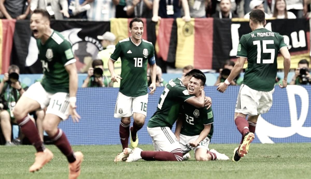 Los tres mosqueteros aztecas claves en la victoria ante Alemania