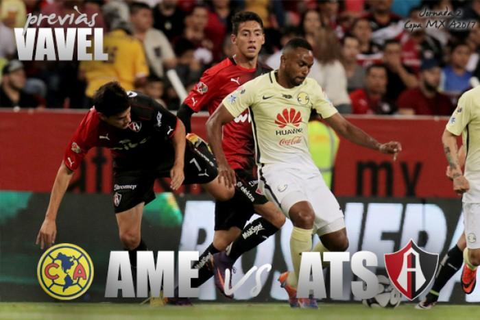 Previa America - Atlas: Por los primeros tres puntos en Copa