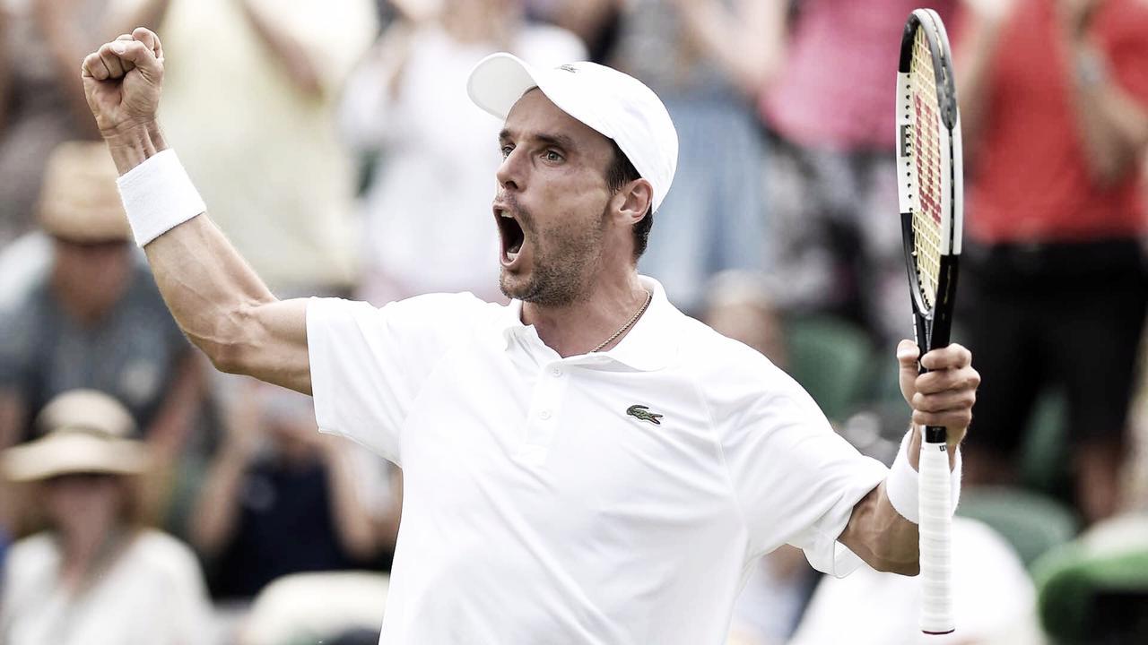 Em grande atuação, Bautista-Agut bate Paire e avança às quartas de Wimbledon