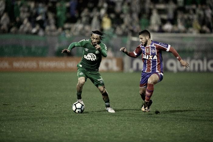 Bahia enfrenta Chapecoense de olho em vaga para Libertadores