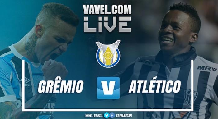 Resultado Grêmio x Atlético-MG no Campeonato Brasileiro 2017 (2-0)