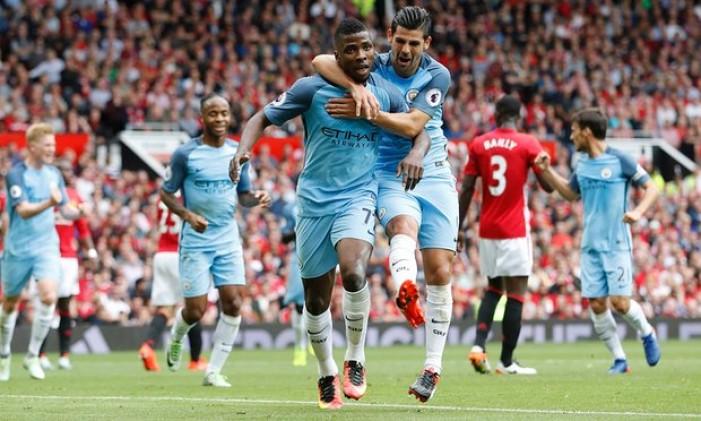 Premier League - Il Manchester City si aggiudica il derby: 1-2 all'Old Trafford contro lo United