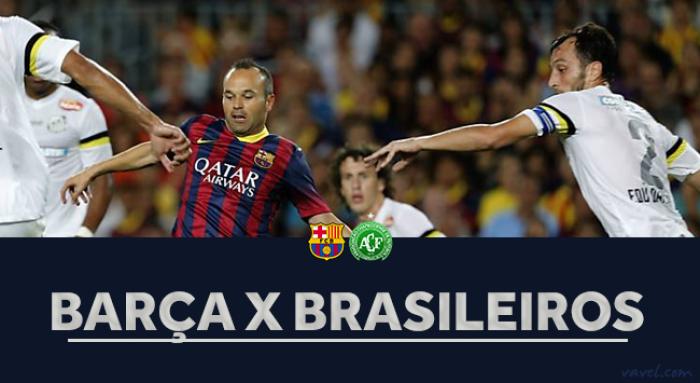 Barcelona e brasileiros no Joan Gamper: retrospecto positivo para a equipe catalã