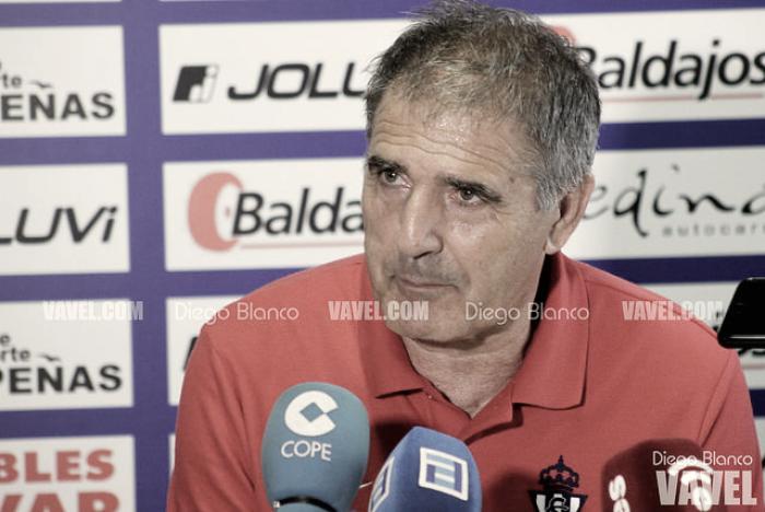 """Paco Herrera: """"Hemos tenido cinco mano a mano con el portero"""""""