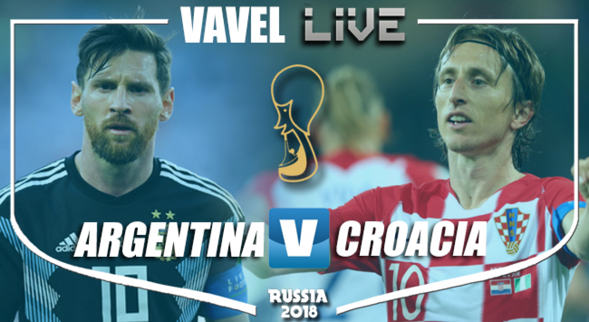 Resultado Argentina 0-3 Croacia en Mundial Rusia 2018