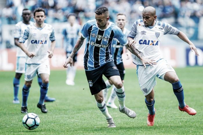 Resultado: Avaí vence Grêmio no Campeonato Brasileiro 2017 (0-2)
