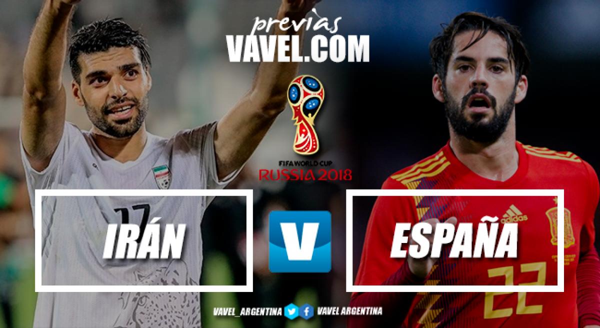 Previa Irán - España: el empatado que quiere ser ganador