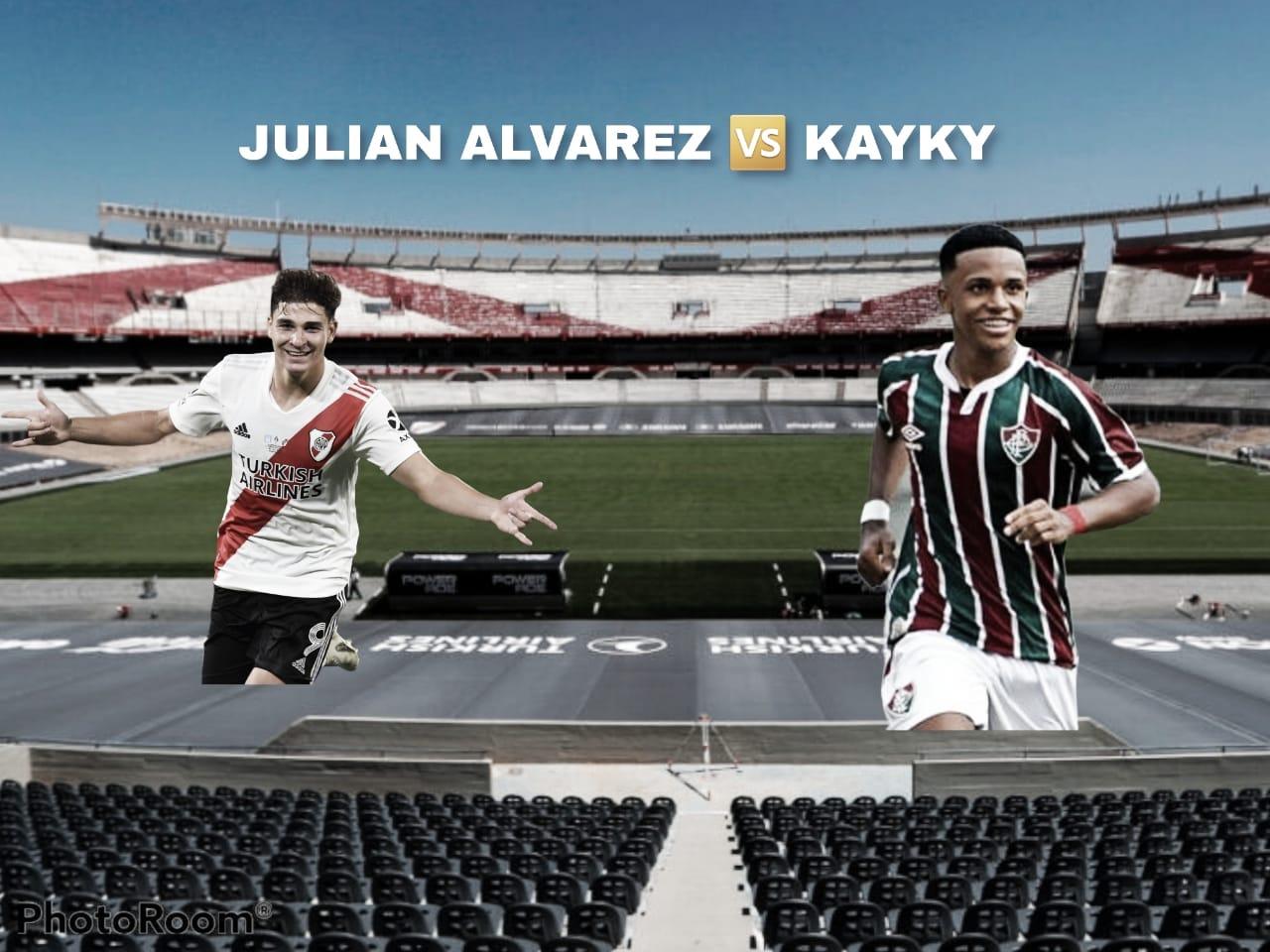 Julián Álvarez vs Kayky: Duelo de jóvenes promesas