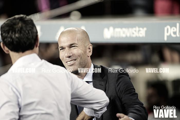 """Zinedine Zidane: """"Contentos con el resultado pero no está sentenciado"""""""