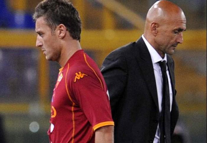 Roma, Spalletti liquida Totti, giallorossi nel caos